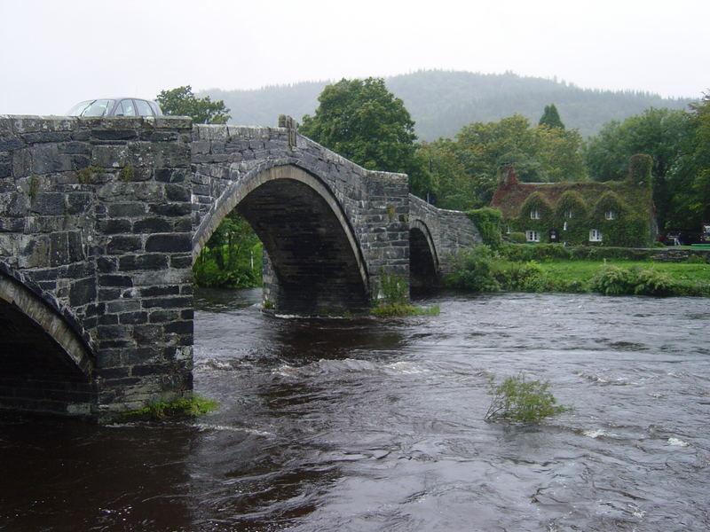 Brücke in Wales