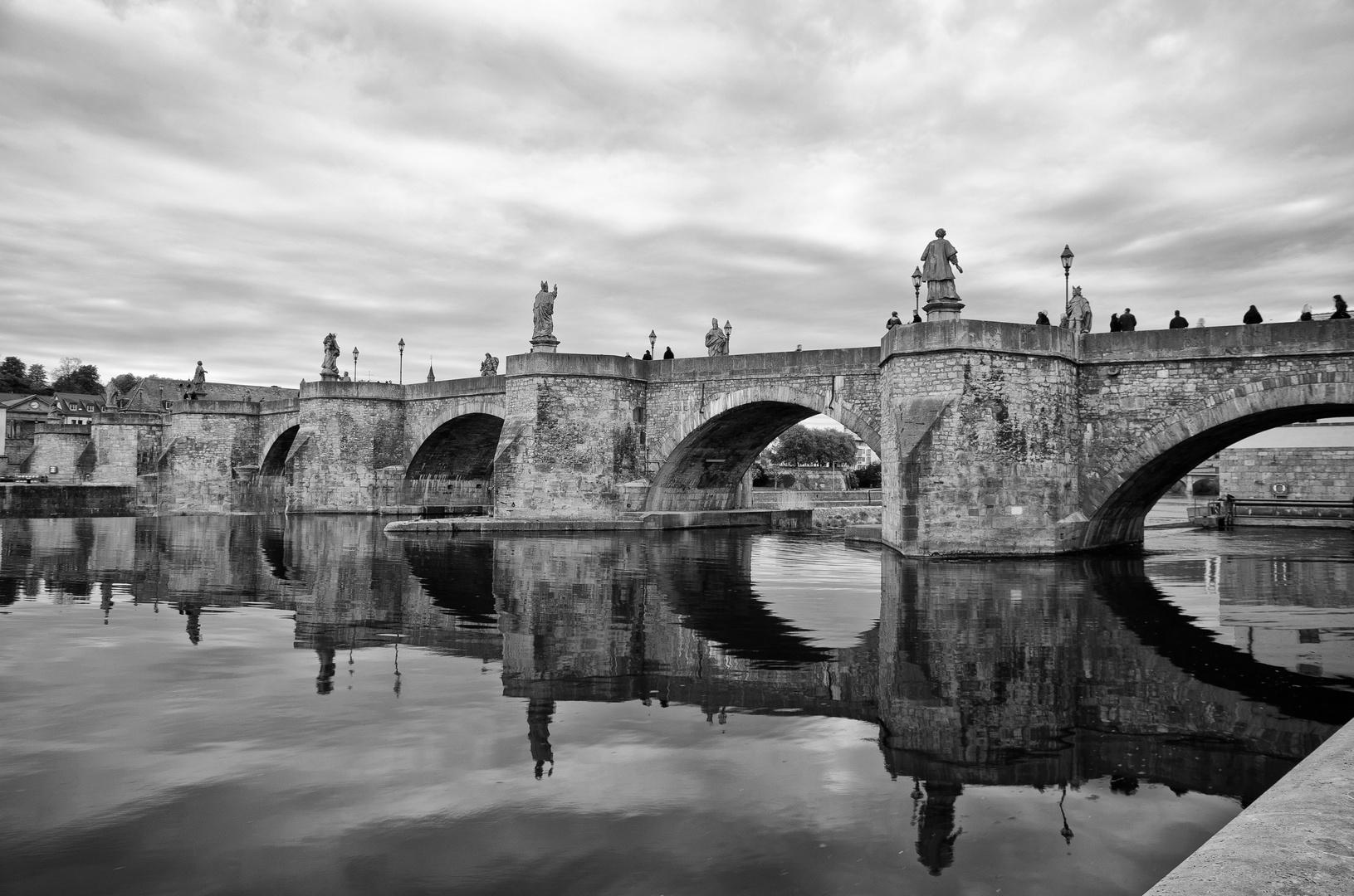 Brücke in Würzburg