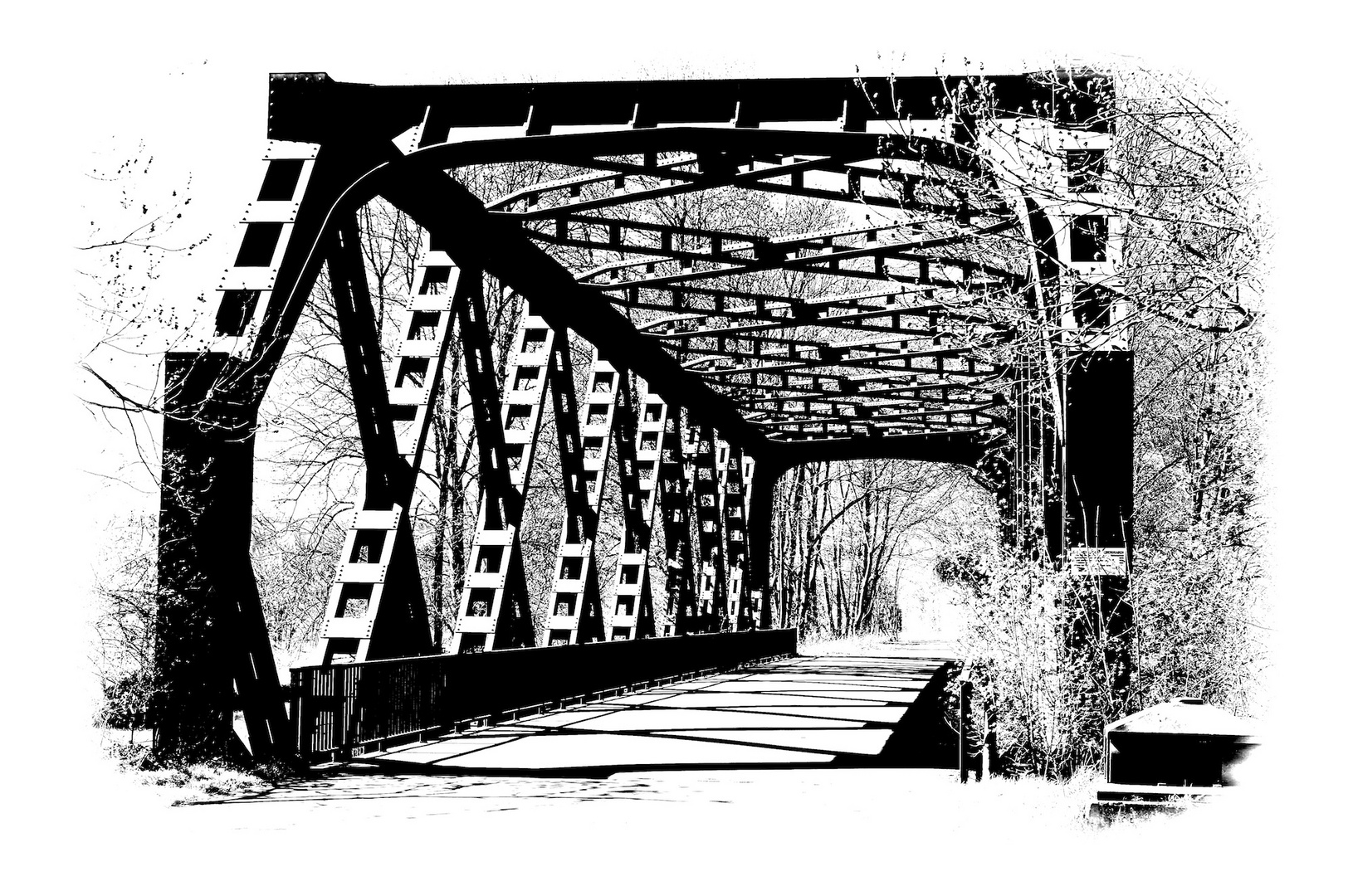 Brücke ins Nichts ...