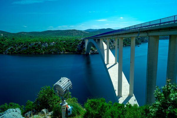 Brücke nach Sibenik