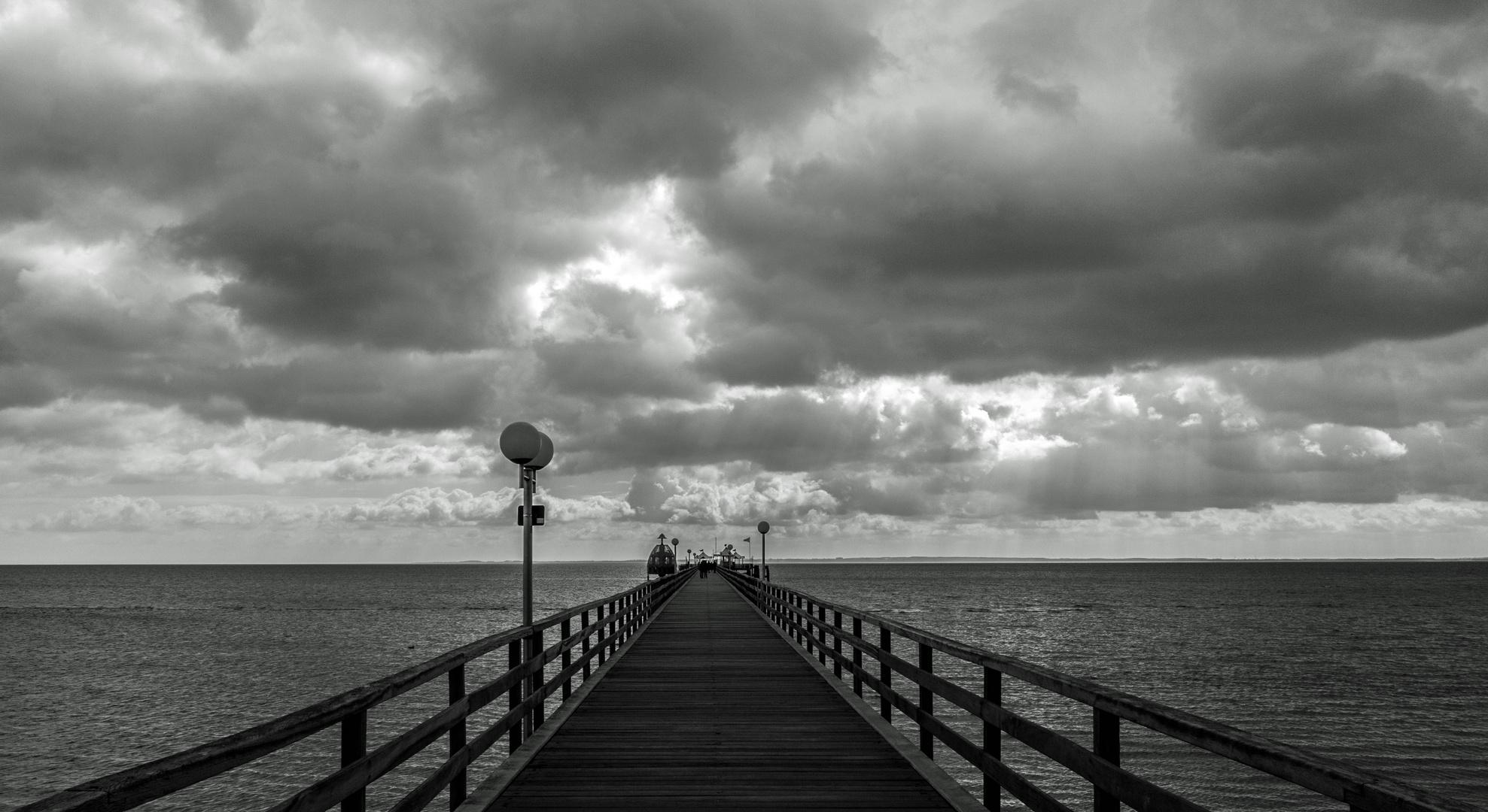 Brücke Promenade Grömitz