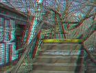 Brücke über Baum (3D)