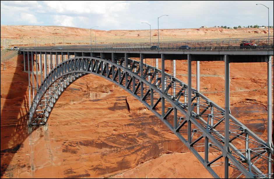 Brücke über den Colorado, Page, Arizona