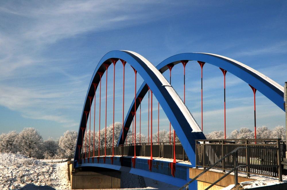 Brücke über den Dortmund-Ems-Kanal in Olfen