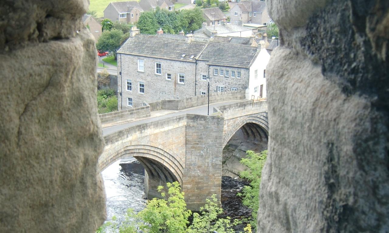Brücke über den River Tees bei Barnard Castle