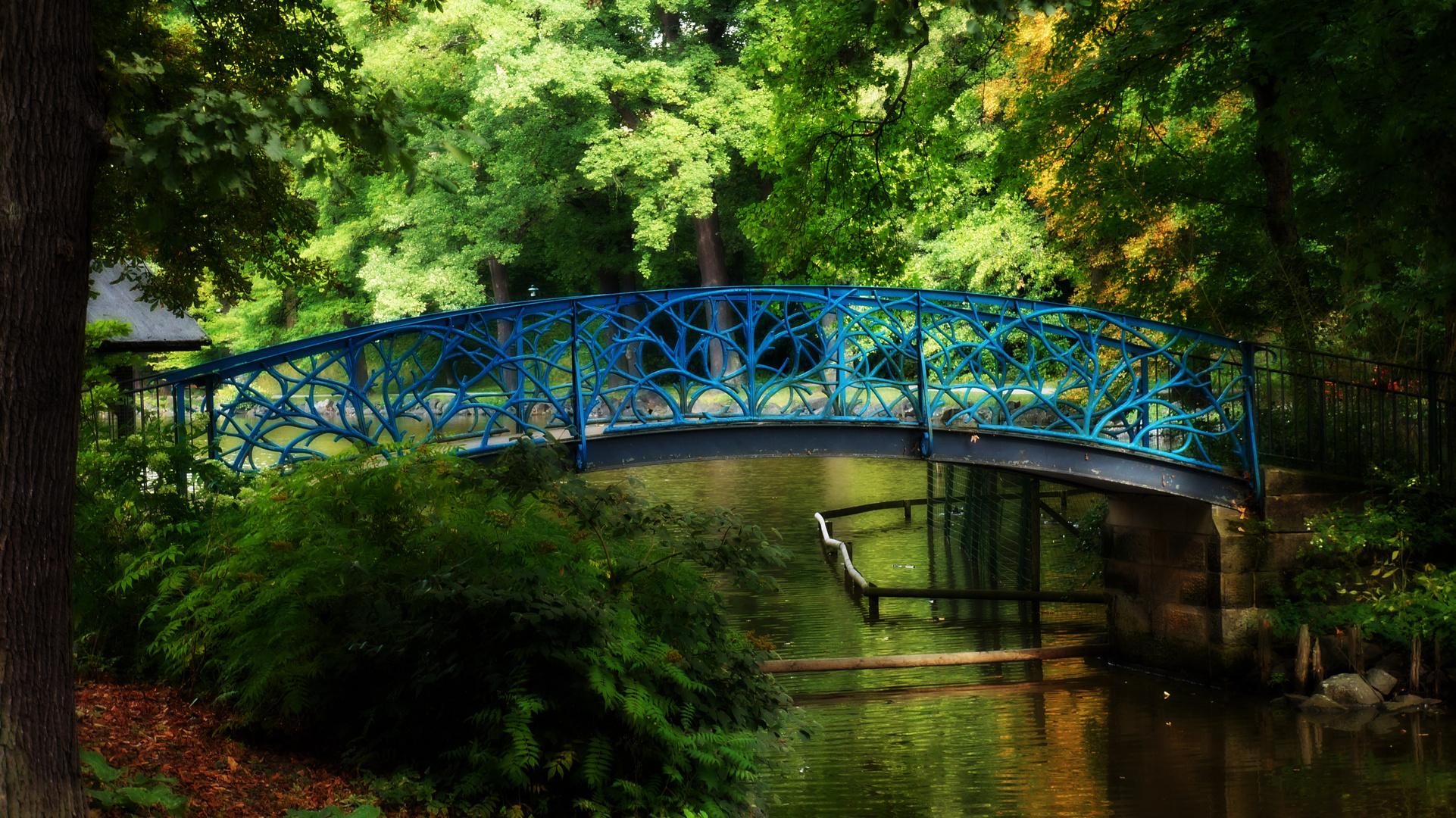 Brücke über den Röhrensee in Bayreuth