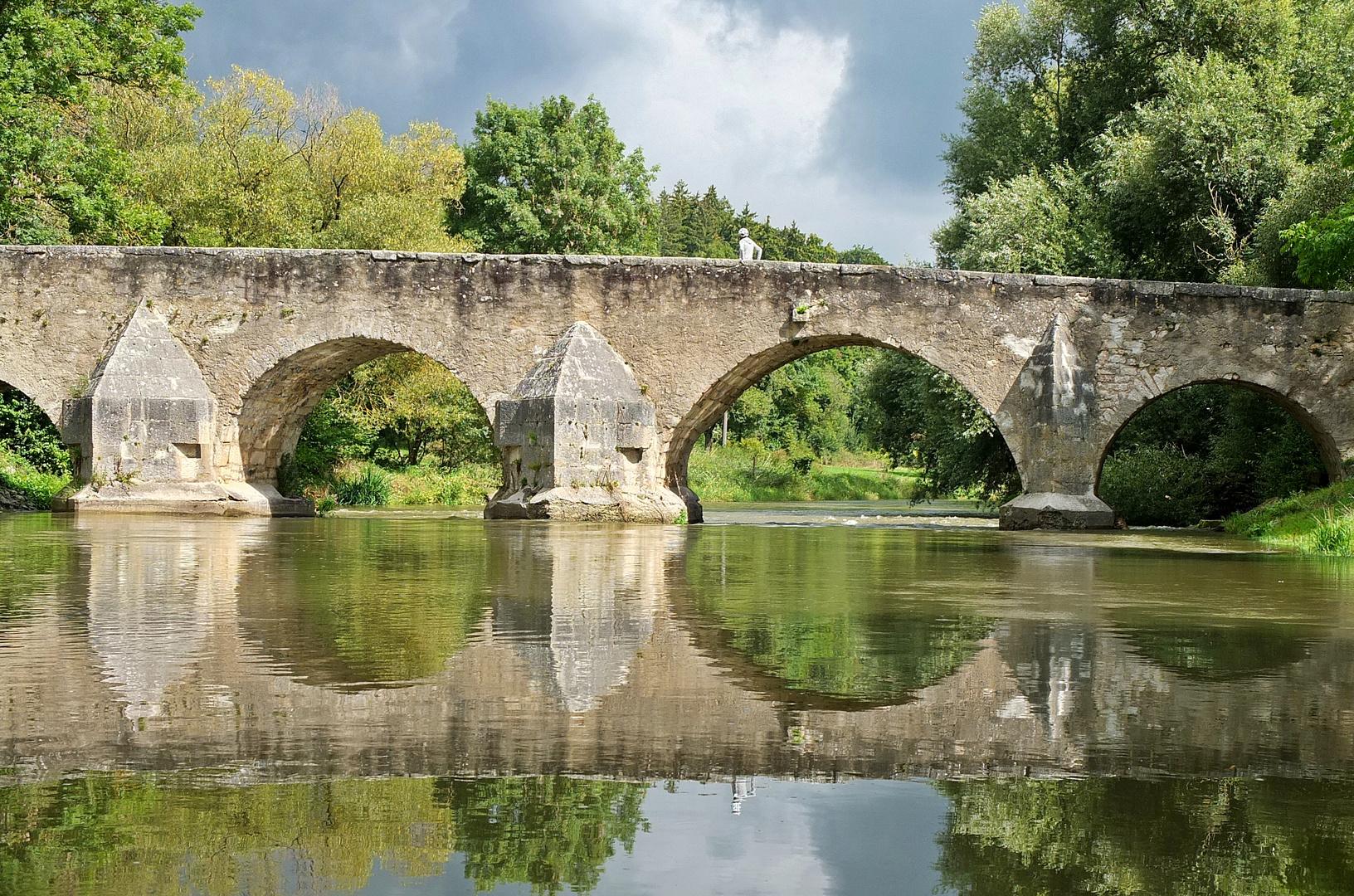 Brücke über die Altmühl
