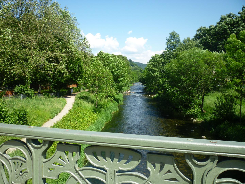 Brücke über die Dreisam