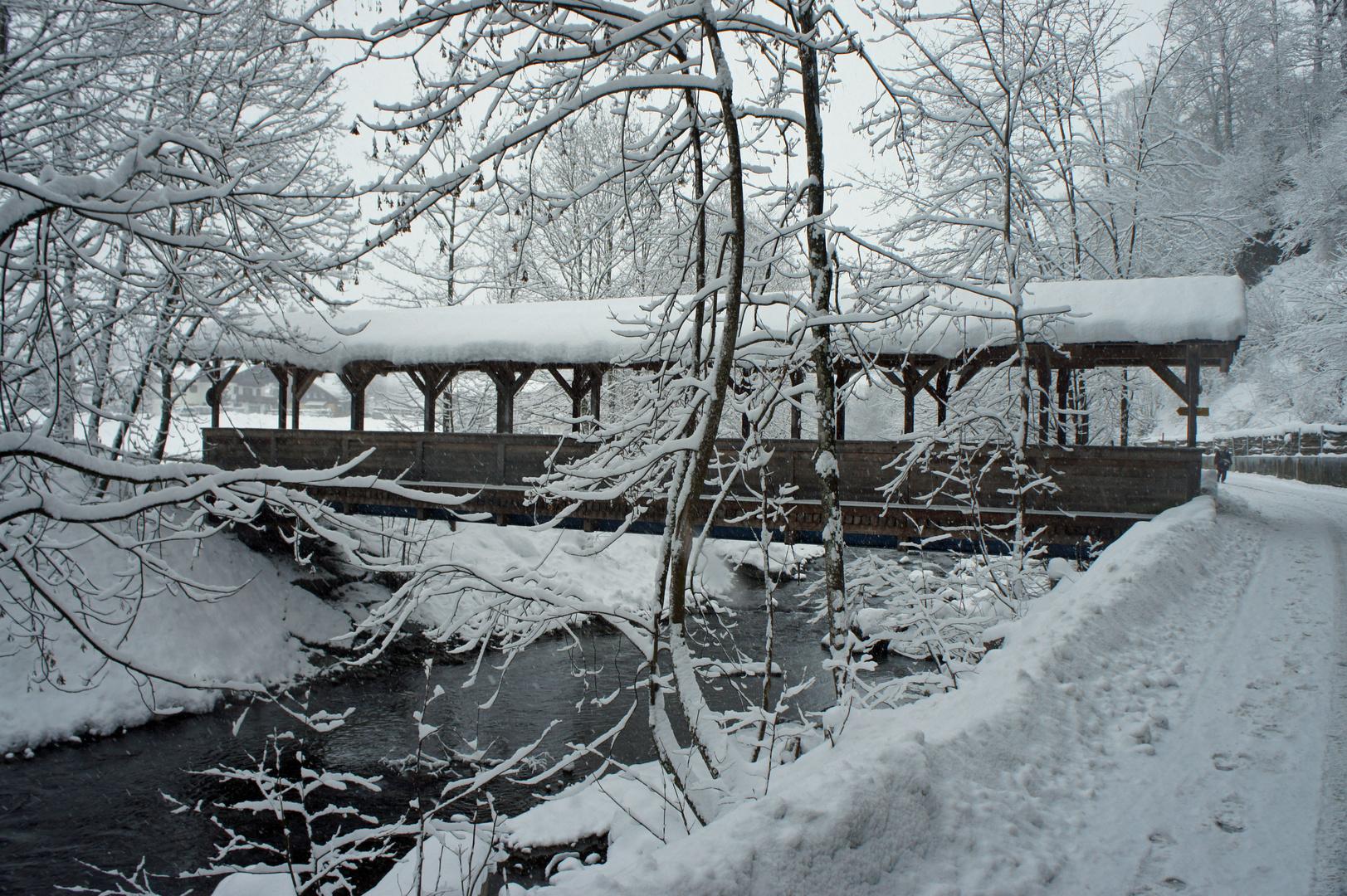 Brücke über die Kitzbüheler Ache