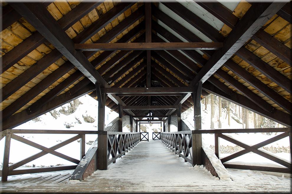 Brücke über die Labe (Elbe)