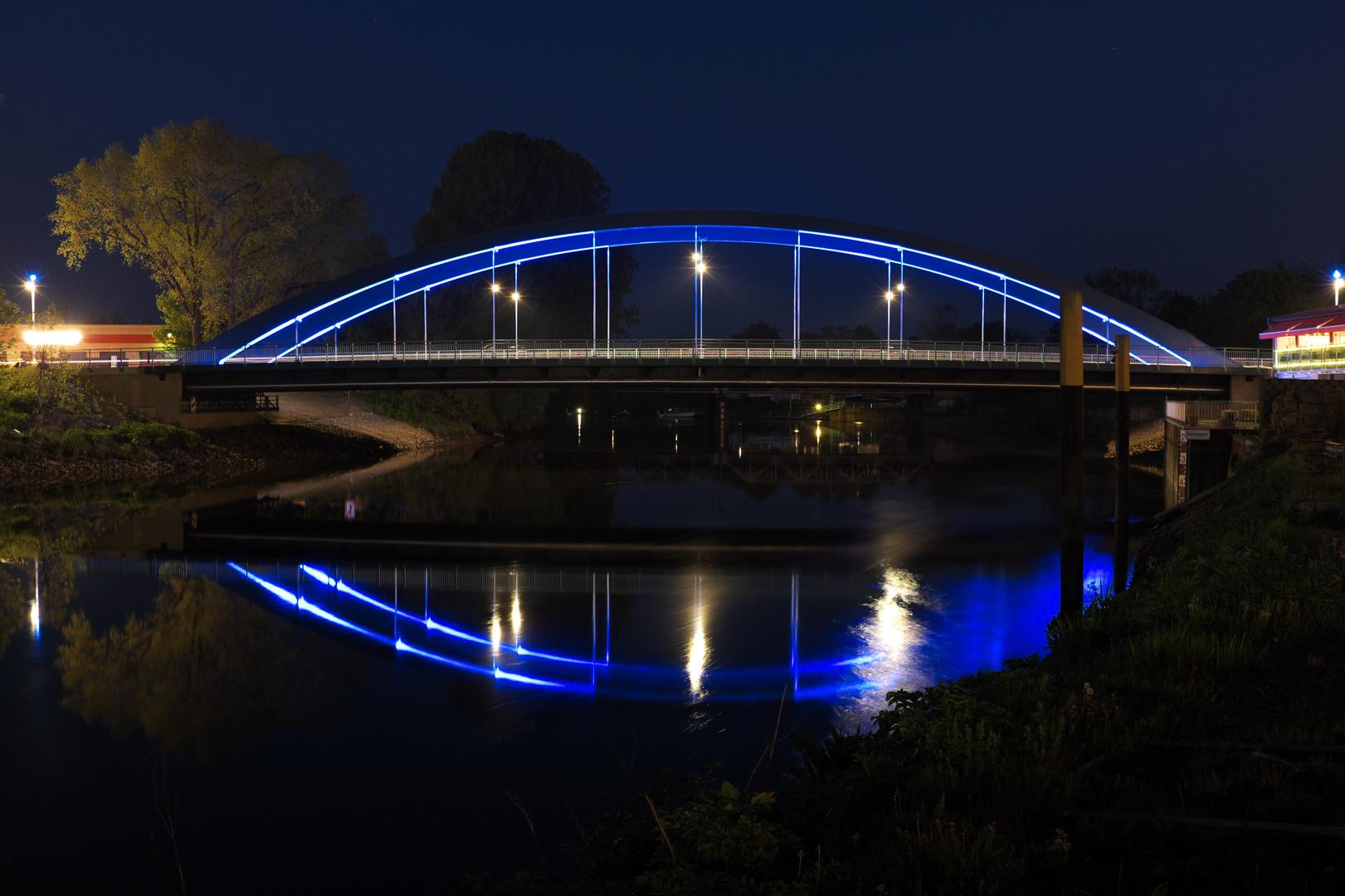 Brücke über die Lesum / Bremen