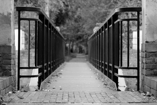Brücke über die Niers bei Wachtendonk