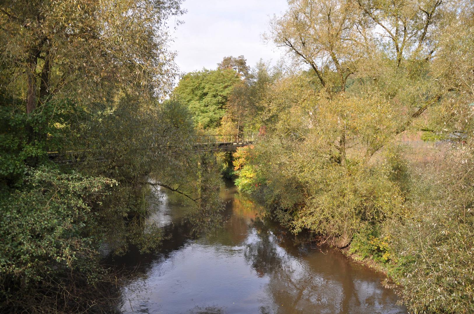 Brücke über Herbstbach