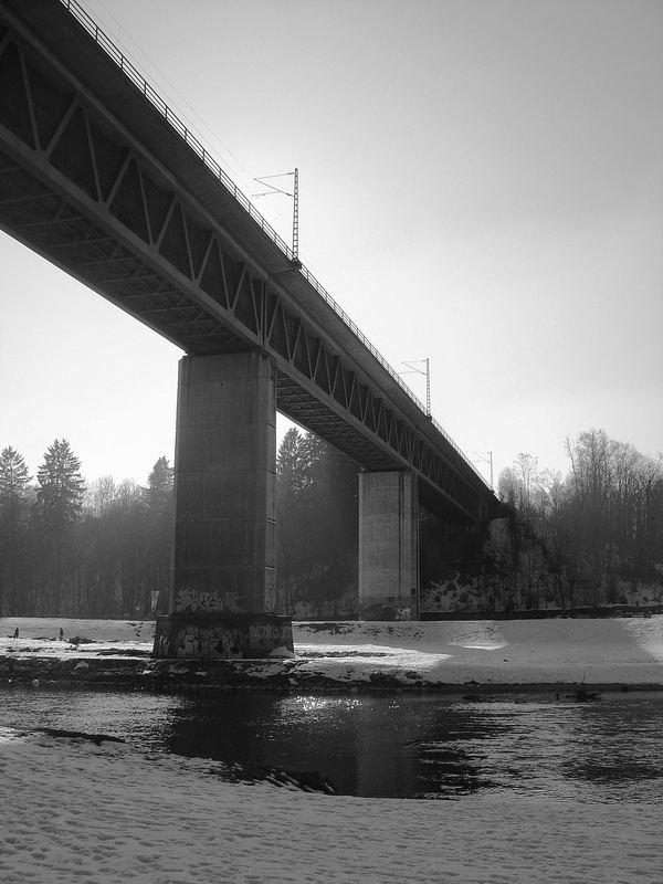 Brücke über Isar