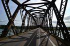 Brücke über Rhein bei Seltz