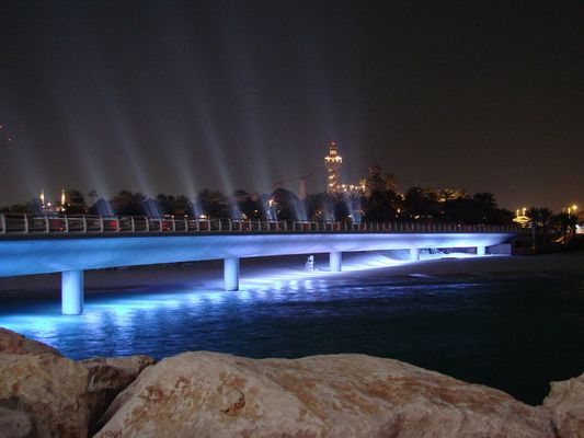 Bruecke zum Burj Al Arab