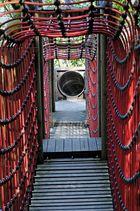 Brücke zum Tunnel