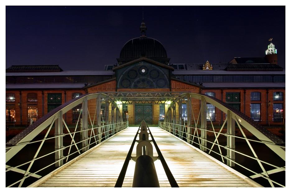 Brücke zur Fischauktionshalle