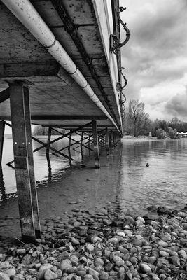 Brücke zur Insel Mainau