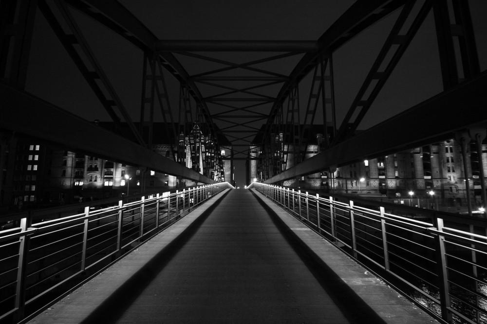 Brücke zur Speicherstadt