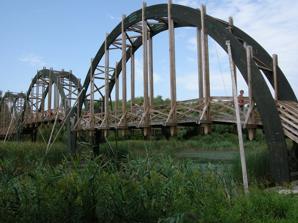 Brücke(Kis-Balaton Ungarn)