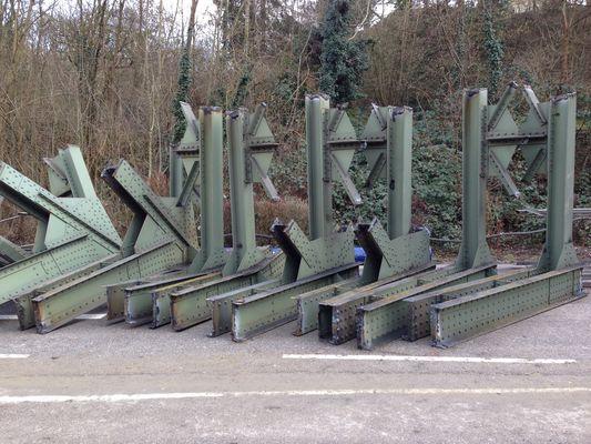 Brücken abbruch Bad Wimpfen