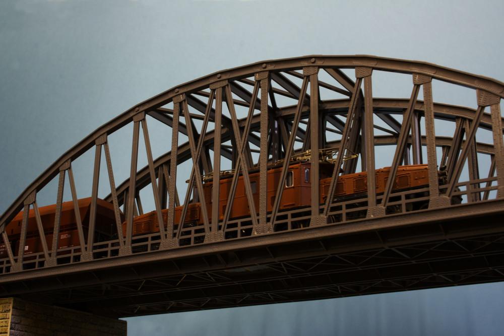 Brücken durchfahrt
