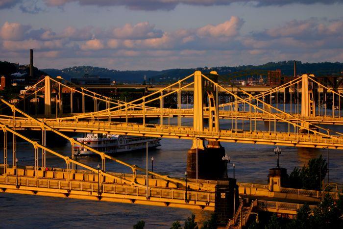 Brücken in Pittsburgh
