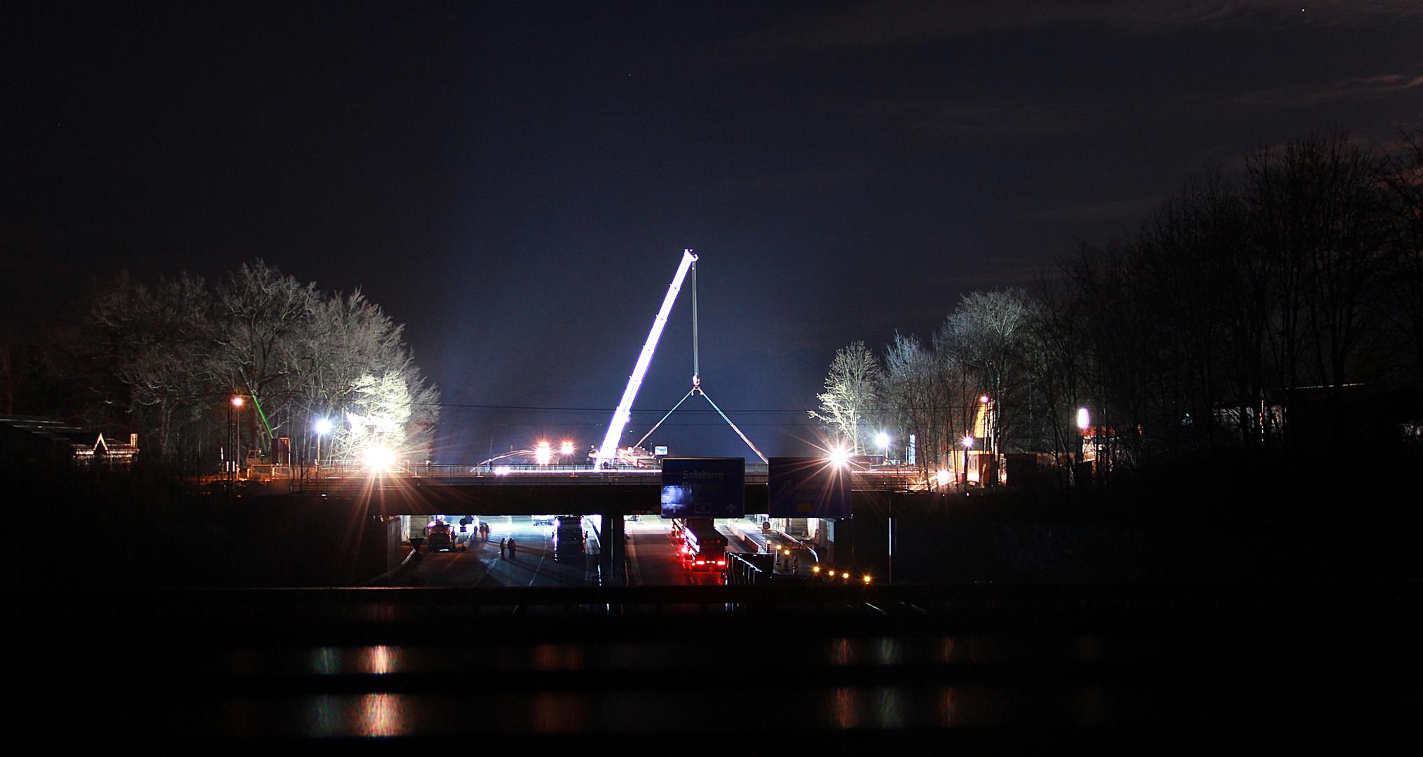 Brückenarbeiten