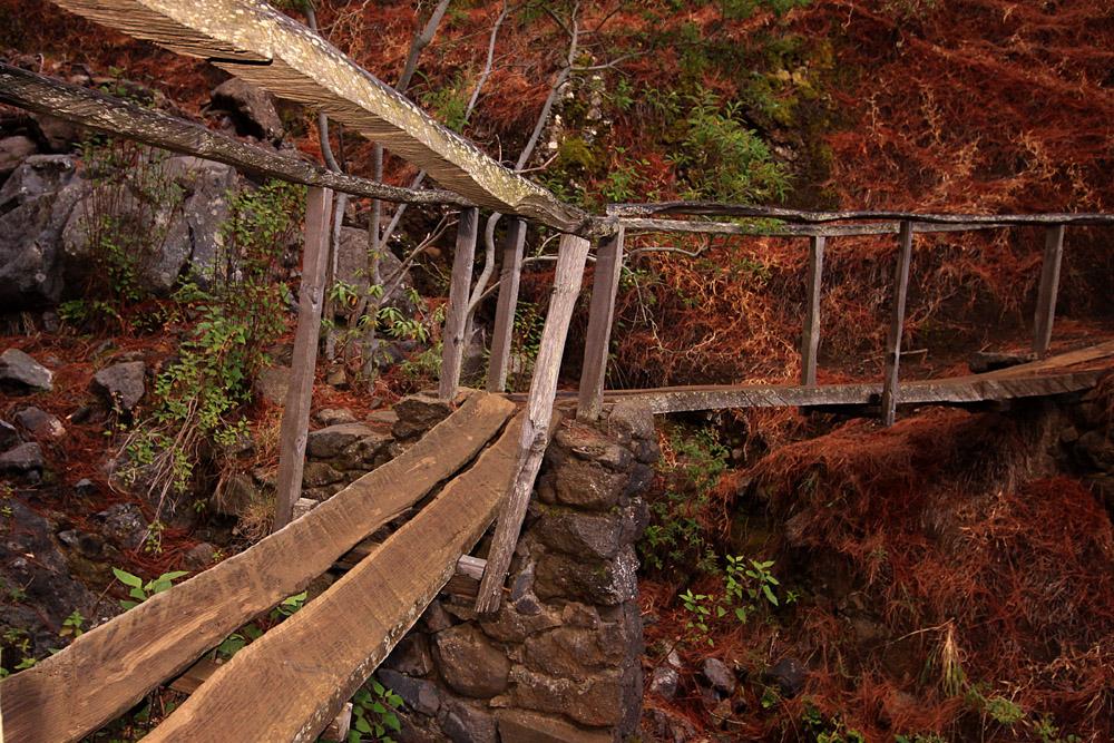 Brückenbauwerke auf La Palma
