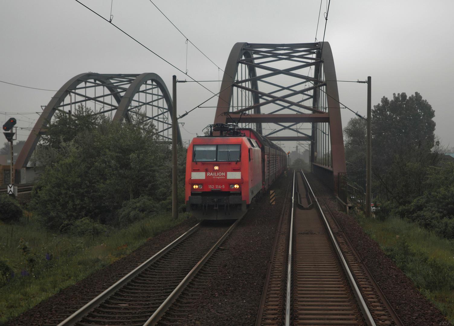 Brückenfahrt