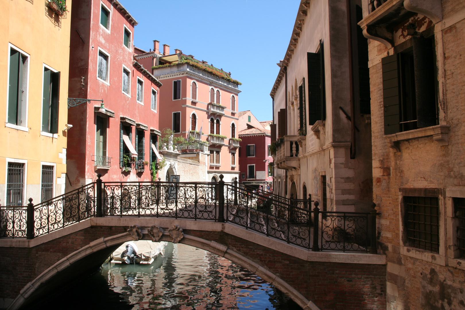 Brückengang Venedig