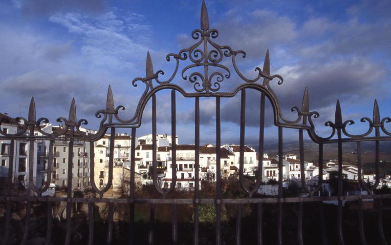 Brückengeländer in Ronda