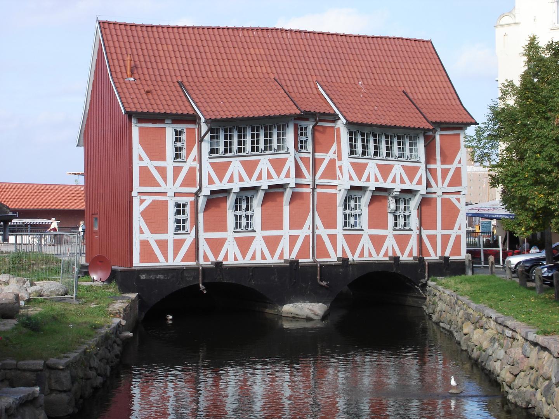 Brückenhaus in Wismar