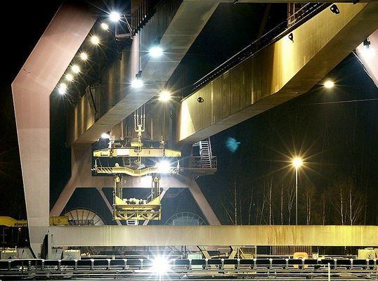 Brückenkran im Dillinger Hafen I