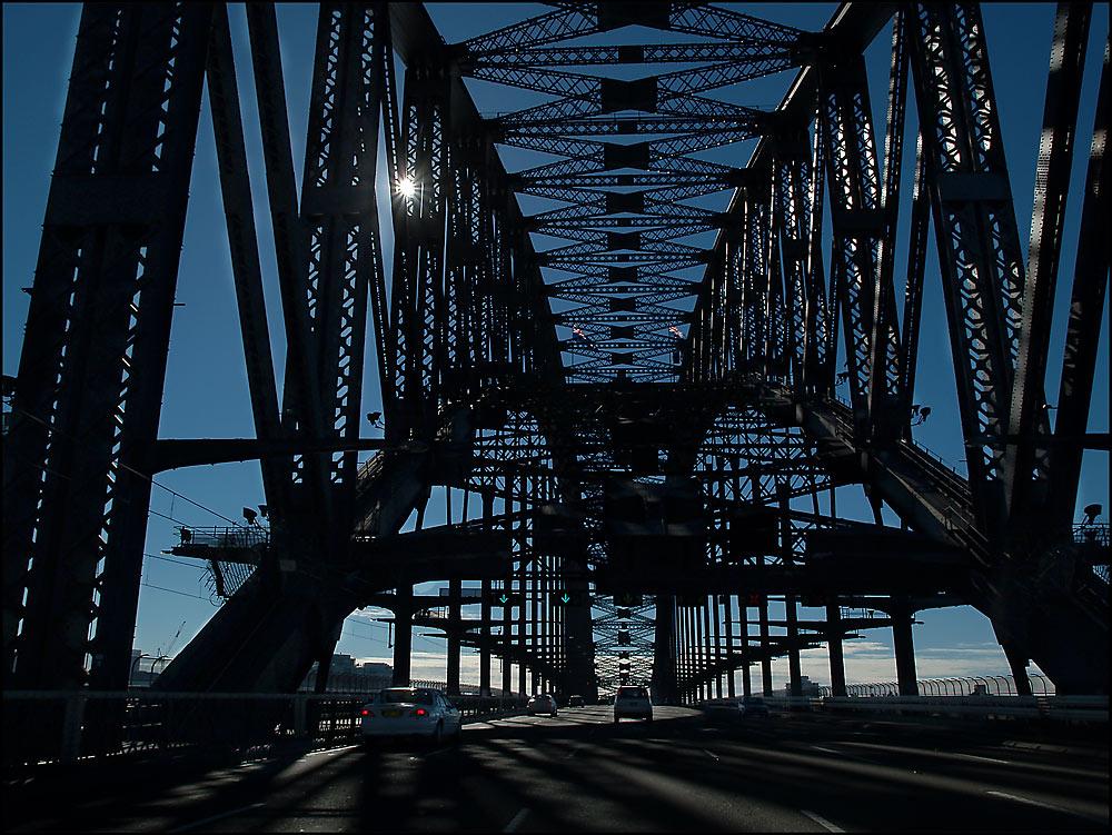 Brückenüberfahrt