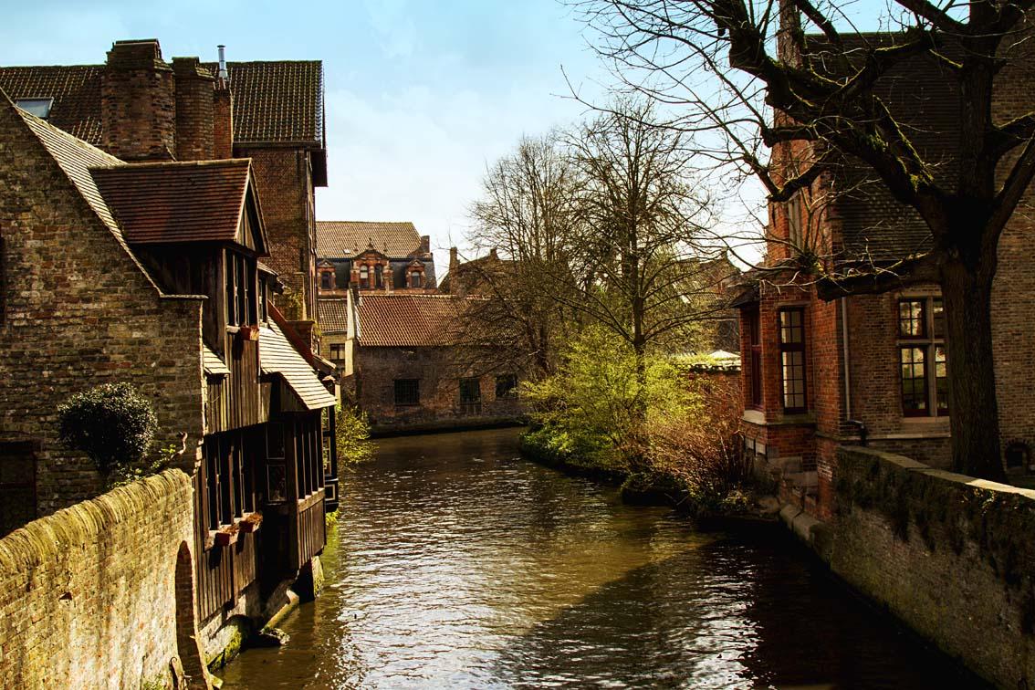 Brügge - Belgien - downtown - museale historische Altstadt