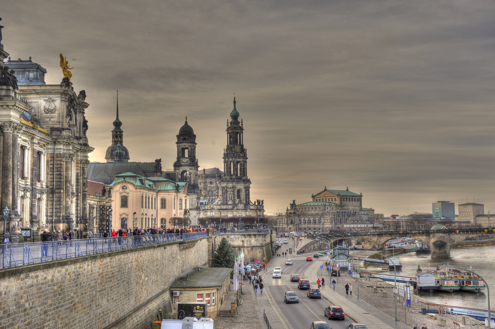 Brühlsche Terasse @ Dresden