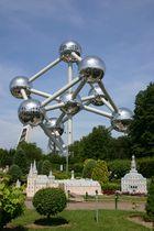 Brüssel -Atomium im Jubelpark in Brüssel-