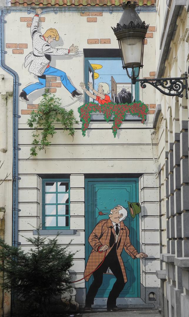 Brüssel - Hauptstadt der Comics 2