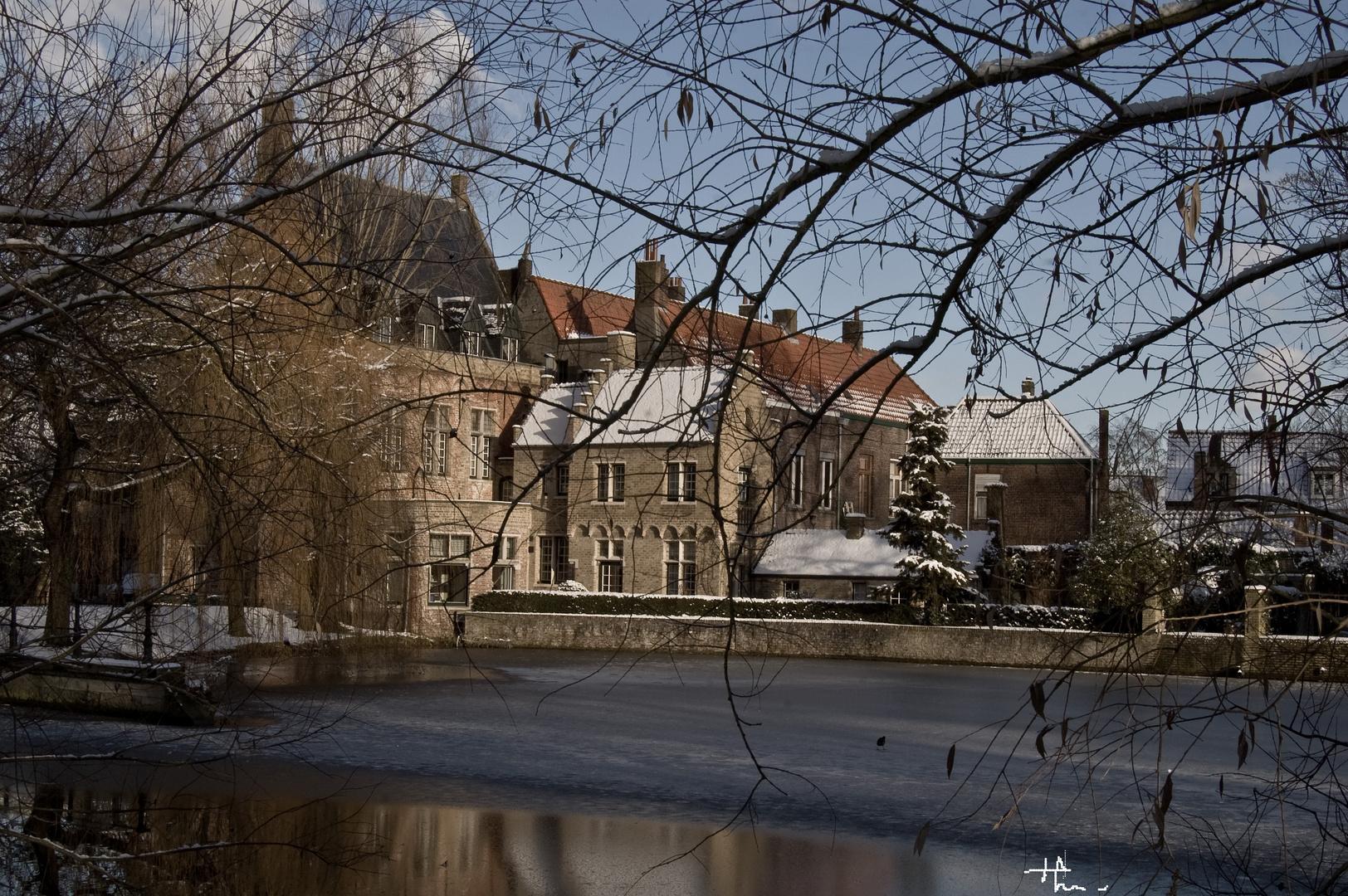 Bruges en hiver 1