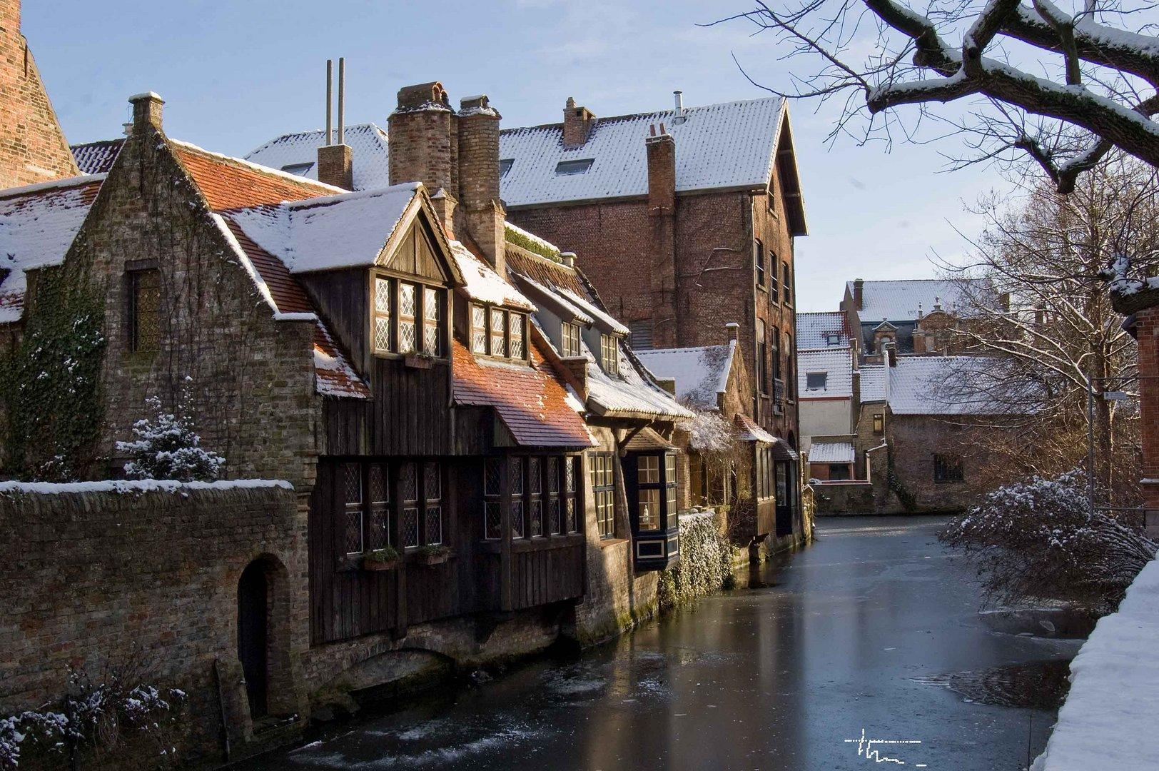 Bruges en hiver 3