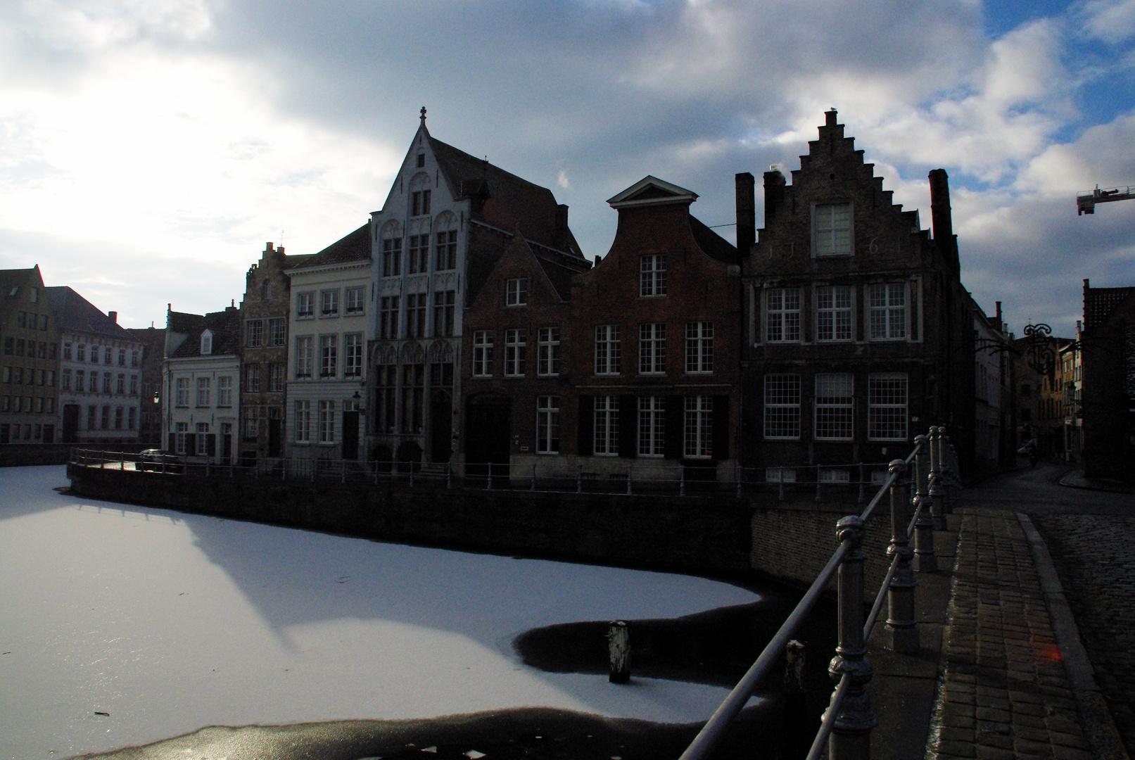 Brugge auf Eis