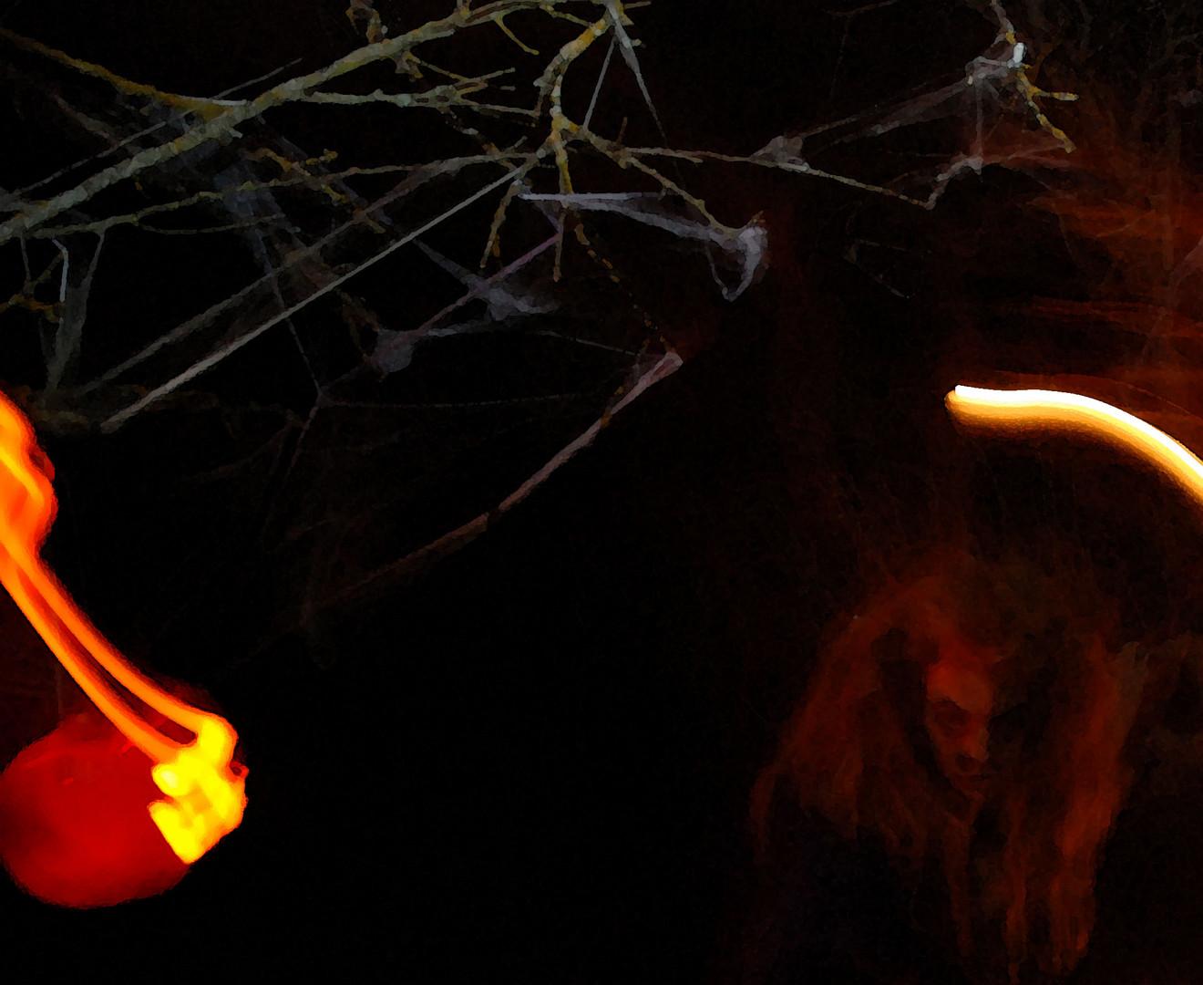 Brujas en la noche