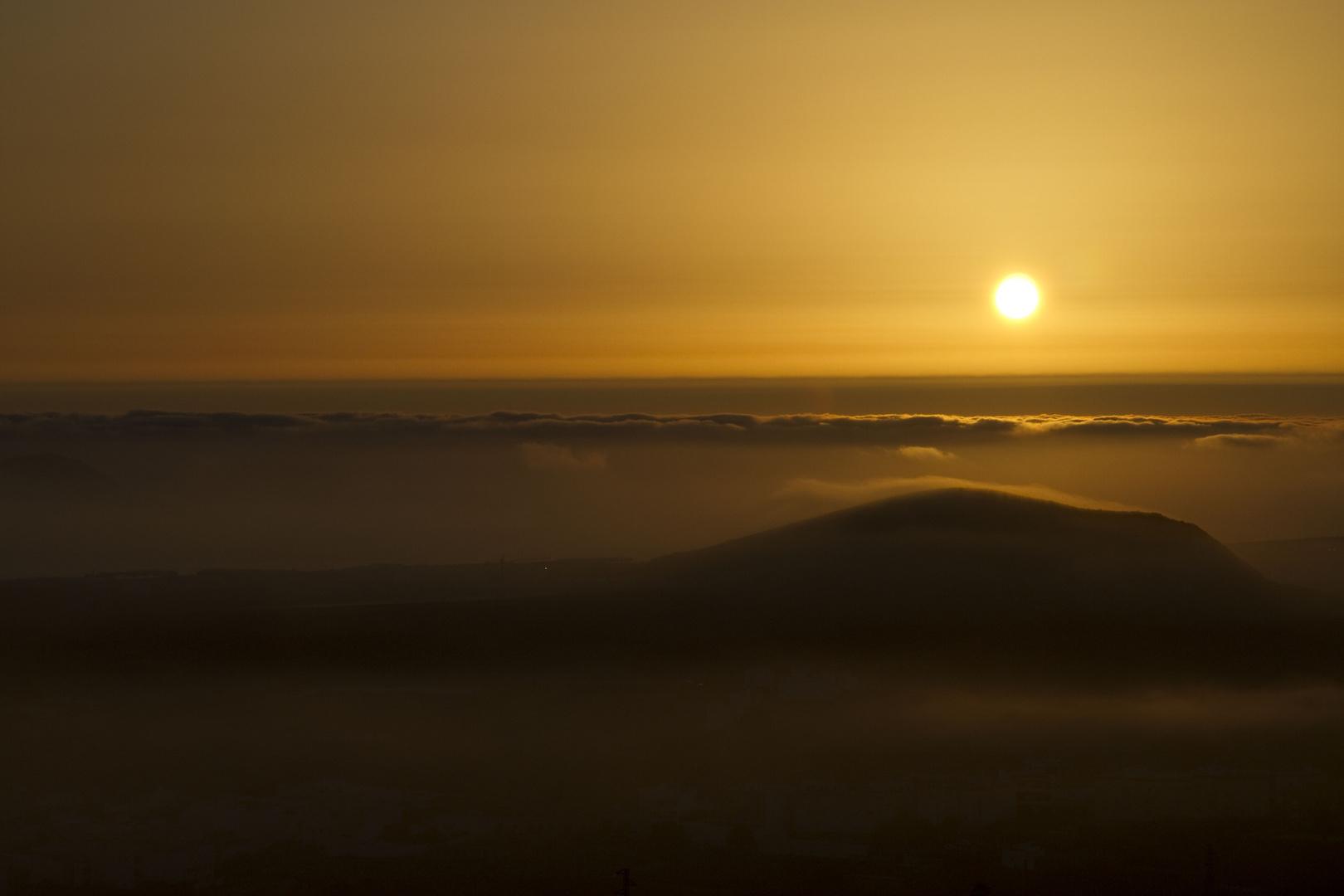 Bruma al amanecer, evoca recuerdos.