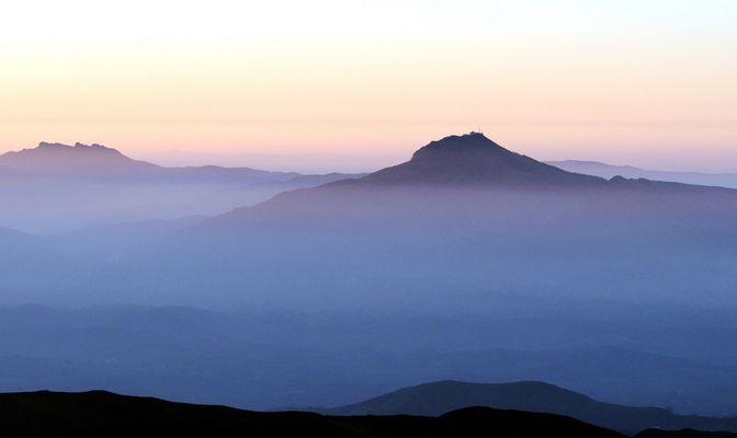 brume en montagne