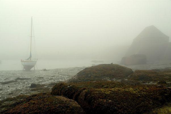 Brume Sur la baie de St-Anne (Bretagne Nord)