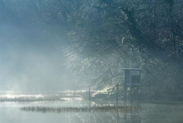 Brume sur la Rance ce matin du 12-02-2008