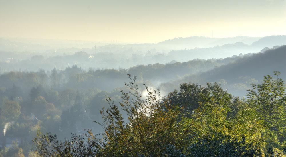 Brume sur la vallée de Chevreuse
