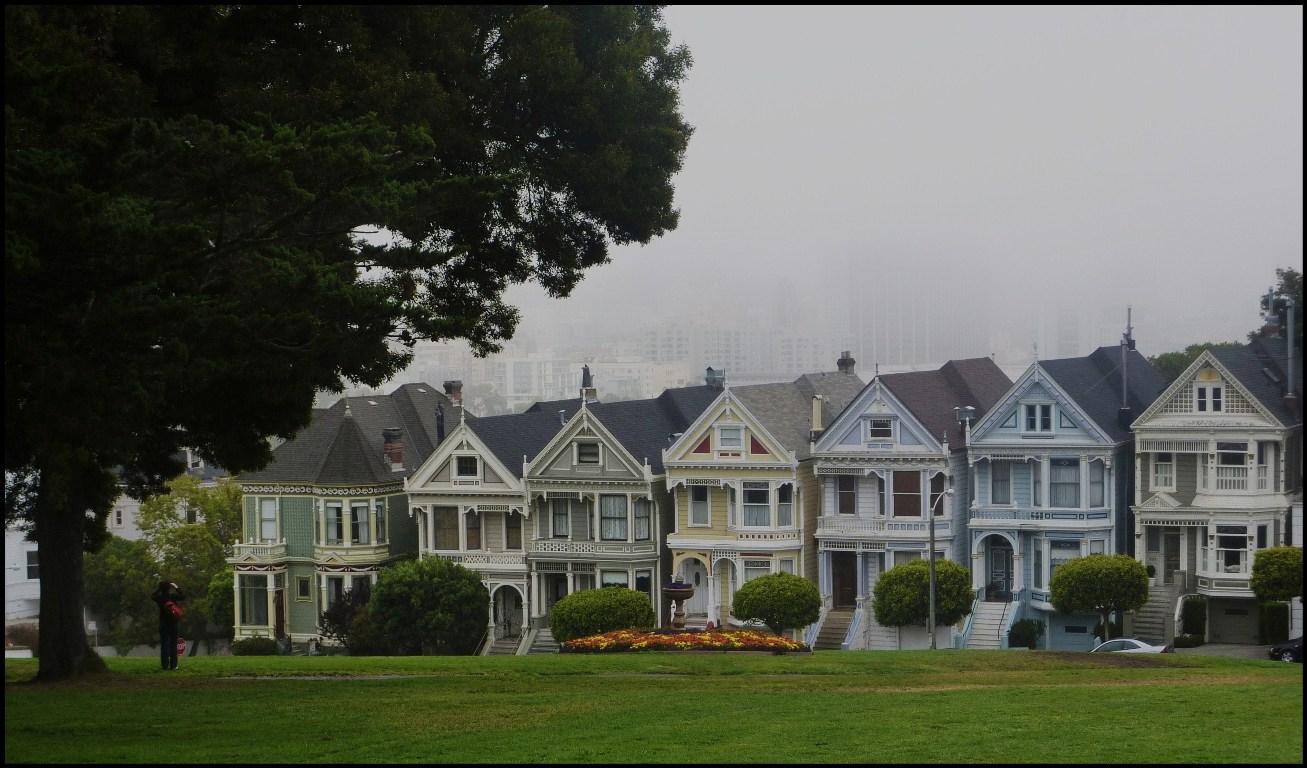 Brumes matinales sur SAN FRANCISCO